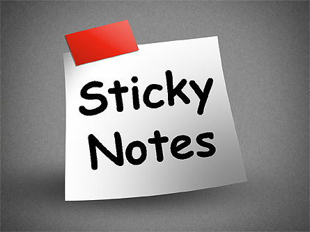 Shapes: Sticky Notes #01628