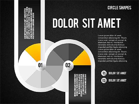 Segmented Round Shapes, Slide 11, 01633, Stage Diagrams — PoweredTemplate.com