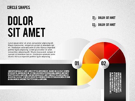 Segmented Round Shapes, Slide 7, 01633, Stage Diagrams — PoweredTemplate.com