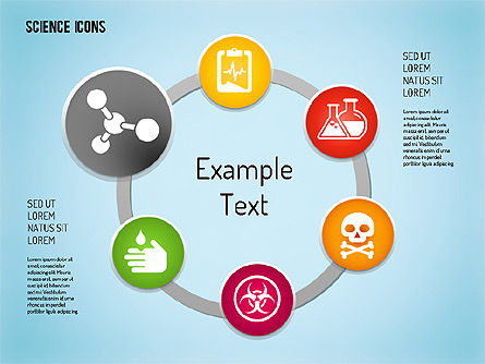Science Process with Icons Slide 10