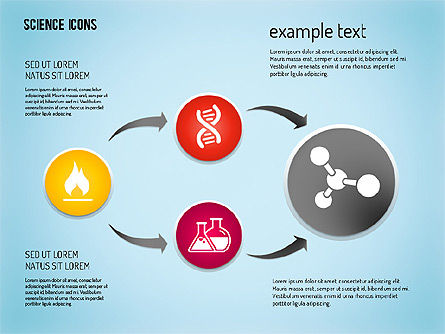 Science Process with Icons Slide 11