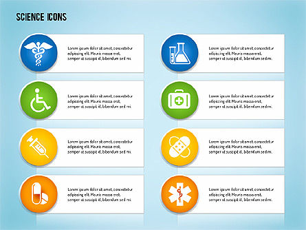 Science Process with Icons Slide 13