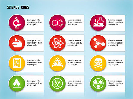 Science Process with Icons Slide 14