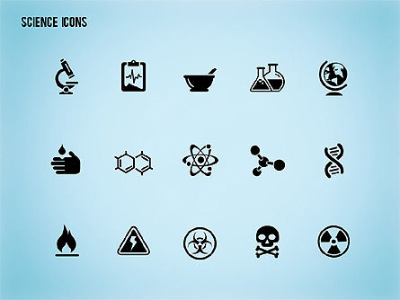 Science Process with Icons Slide 15