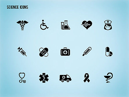 Science Process with Icons Slide 16