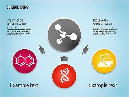 Science Process with Icons Slide 4