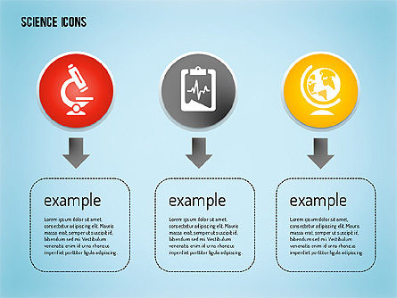 Science Process with Icons Slide 5