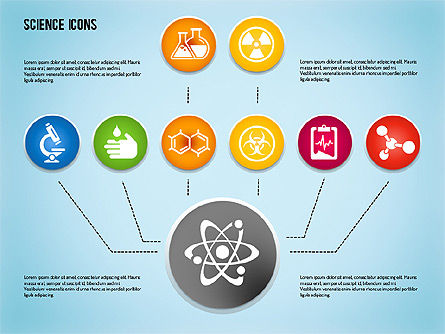 Science Process with Icons Slide 7