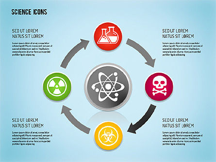 Science Process with Icons Slide 8