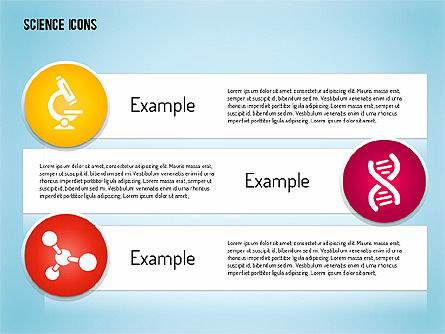 Science Process with Icons Slide 9
