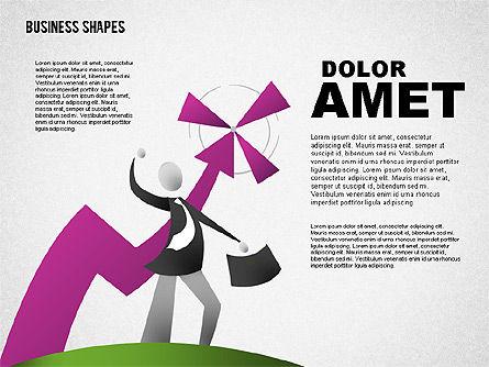 Business Models: Haga las ilustraciones del concepto del beneficio #01639