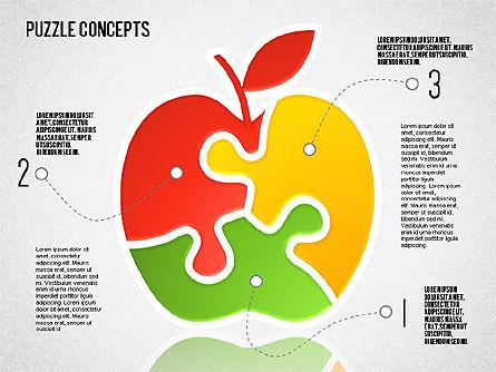 Puzzle Concept, Slide 3, 01642, Puzzle Diagrams — PoweredTemplate.com