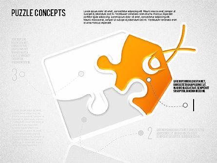 Puzzle Concept, Slide 4, 01642, Puzzle Diagrams — PoweredTemplate.com