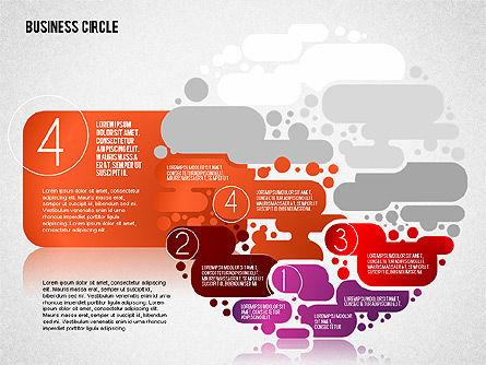 Business Cloud Stages, Slide 4, 01647, Business Models — PoweredTemplate.com