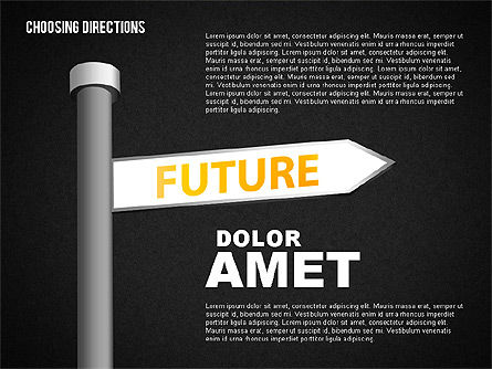 Forked Street Signs, Slide 10, 01648, Business Models — PoweredTemplate.com