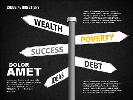 Forked Street Signs, Slide 11, 01648, Business Models — PoweredTemplate.com