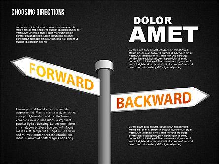 Forked Street Signs, Slide 12, 01648, Business Models — PoweredTemplate.com