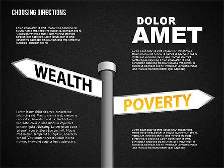 Forked Street Signs, Slide 14, 01648, Business Models — PoweredTemplate.com