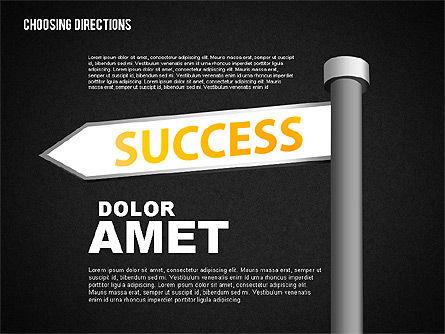 Forked Street Signs, Slide 16, 01648, Business Models — PoweredTemplate.com