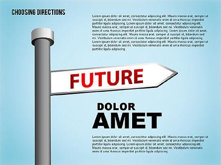Forked Street Signs, Slide 2, 01648, Business Models — PoweredTemplate.com