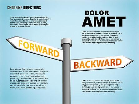 Forked Street Signs, Slide 4, 01648, Business Models — PoweredTemplate.com