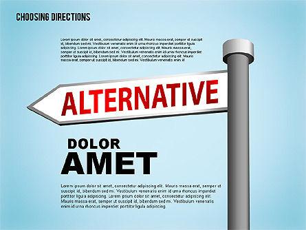 Forked Street Signs, Slide 5, 01648, Business Models — PoweredTemplate.com