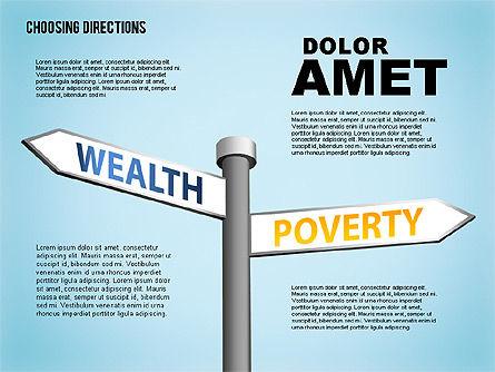 Forked Street Signs, Slide 6, 01648, Business Models — PoweredTemplate.com