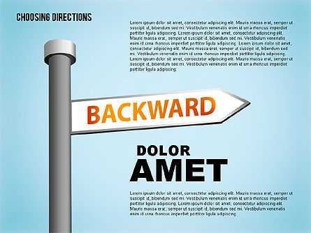 Forked Street Signs, Slide 7, 01648, Business Models — PoweredTemplate.com