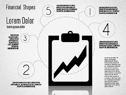 Financial Shapes, Slide 8, 01649, Shapes — PoweredTemplate.com