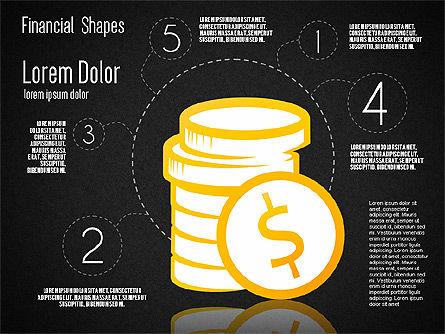 Financial Shapes, Slide 9, 01649, Shapes — PoweredTemplate.com