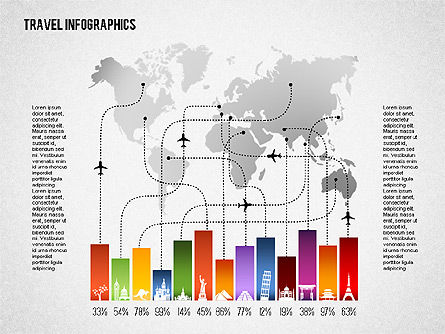 Business Models: Travel Infographics #01650