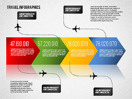 Travel Infographics, Slide 2, 01650, Business Models — PoweredTemplate.com