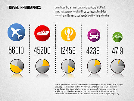 Travel Infographics, Slide 4, 01650, Business Models — PoweredTemplate.com