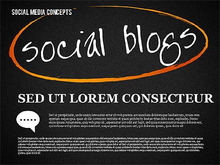 Social Media Planning, Slide 10, 01653, Business Models — PoweredTemplate.com