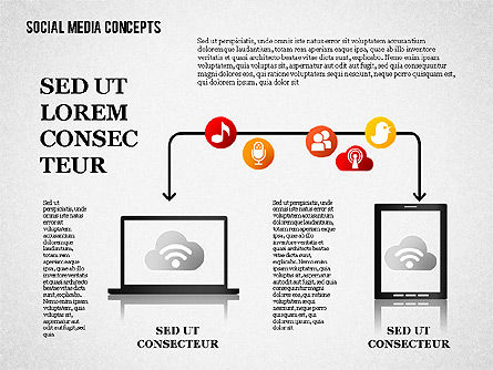 Social Media Planning, Slide 5, 01653, Business Models — PoweredTemplate.com