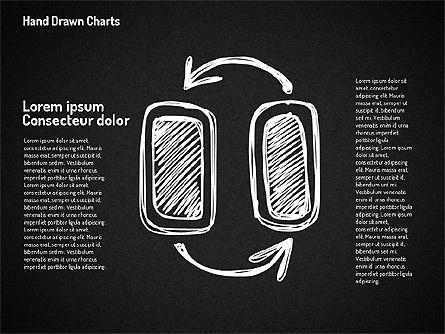 Chalk Style Shapes, Slide 11, 01658, Shapes — PoweredTemplate.com