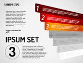 Rainbow Colored Steps Diagram#3