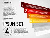 Rainbow Colored Steps Diagram#4