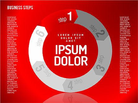 Decision Making Steps, Slide 5, 01667, Stage Diagrams — PoweredTemplate.com