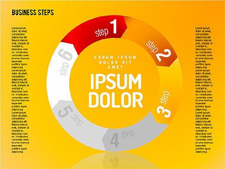 Decision Making Steps, Slide 7, 01667, Stage Diagrams — PoweredTemplate.com