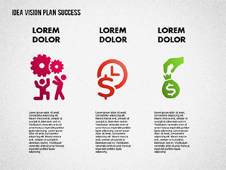 Success Planning Diagram, Slide 10, 01671, Stage Diagrams — PoweredTemplate.com