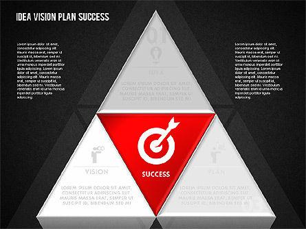 Success Planning Diagram, Slide 11, 01671, Stage Diagrams — PoweredTemplate.com