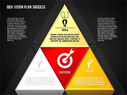 Success Planning Diagram, Slide 13, 01671, Stage Diagrams — PoweredTemplate.com