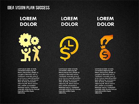 Success Planning Diagram, Slide 15, 01671, Stage Diagrams — PoweredTemplate.com