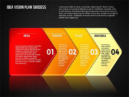 Success Planning Diagram, Slide 16, 01671, Stage Diagrams — PoweredTemplate.com