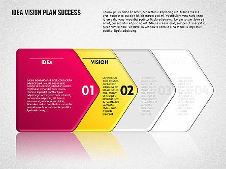 Success Planning Diagram, Slide 7, 01671, Stage Diagrams — PoweredTemplate.com