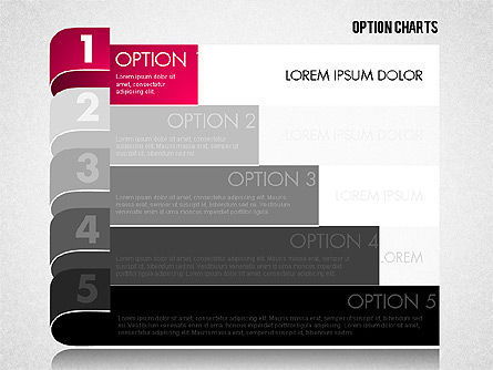 Stripe Options Diagram, Slide 11, 01674, Stage Diagrams — PoweredTemplate.com