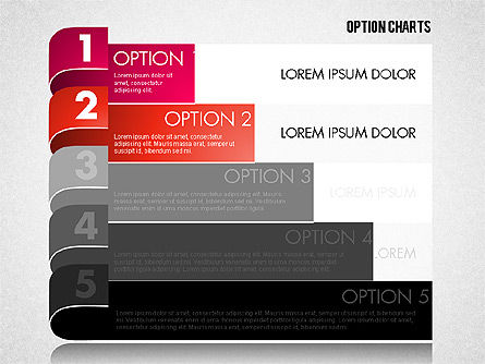Stripe Options Diagram, Slide 12, 01674, Stage Diagrams — PoweredTemplate.com