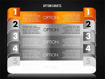 Stripe Options Diagram, Slide 19, 01674, Stage Diagrams — PoweredTemplate.com