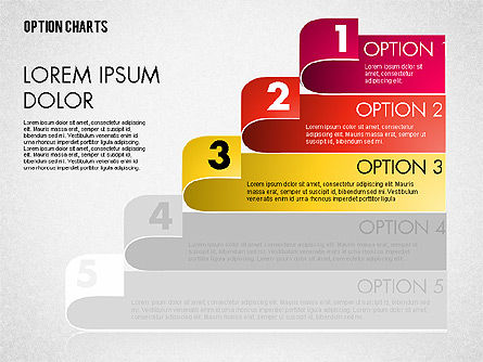 Stripe Options Diagram, Slide 8, 01674, Stage Diagrams — PoweredTemplate.com